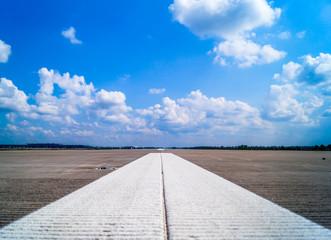 Runway, Berlin Airport, Germany
