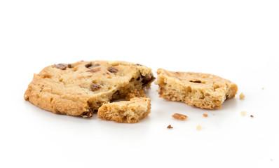 Poster Cookies milk chocolate toffee almond cookies