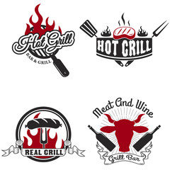 grill labels