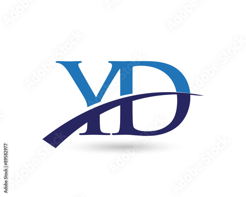 Yd Logo Letter Swoosh