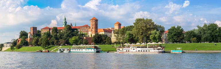 Autocollant pour porte Cracovie Wawel castle in Kracow