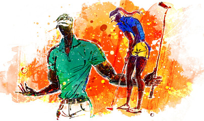Illustration of sports