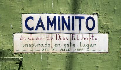 Caminito Buenos Aires Argentina Juan de Dios Filiberto Tango フアン・デ・ディオス・フィリベルト