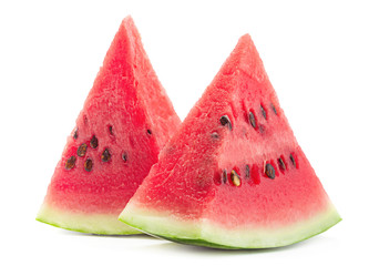 Watermelon fruit slice