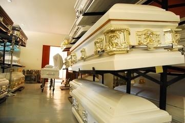 White Coffins photo image