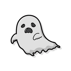 ghost doodle
