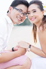 lovely couple people lifestyle romance .
