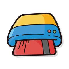 credit card color doodle