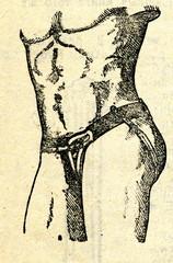 Hernia belt ca. 1900