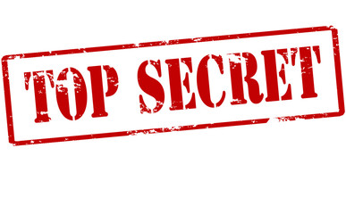 Top secret Wall mural