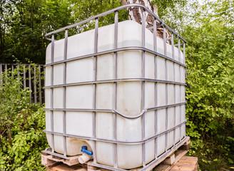 Baustelle Wassertank