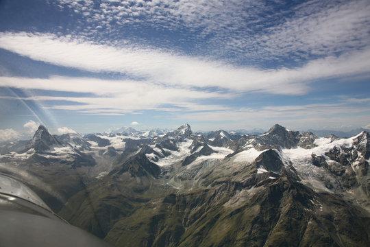 Matterhorn im Flug