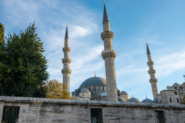The Suleymaniye Mosque is the largest mosque in the city, and one of the best-known sights of Istanbul.