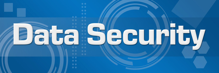 Data Security Technical Background Horizontal