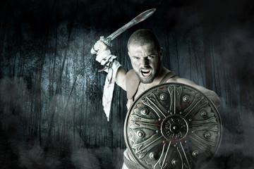 Gladiator warrior