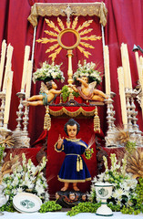 Altar del Corpus Christi, Sevilla, Andalucía, España