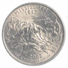 Mississippi state quarter