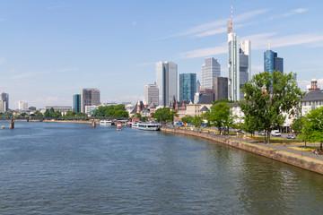 Business District in Frankfurt