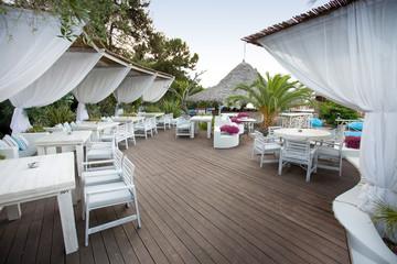 Luxury bar at beach