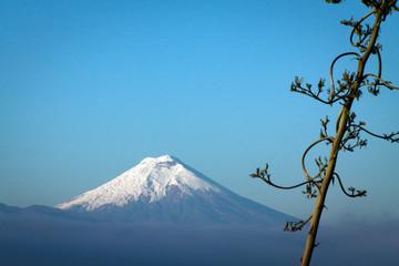 Amazing Cotopaxi volcano, Ecuador