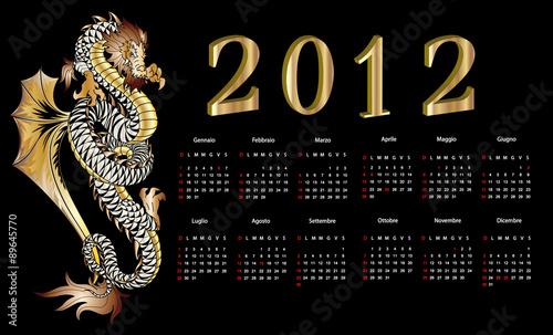 Calendario Timing.Il Calendario Del Drago 2012 The Timing Of The Dragon 2012