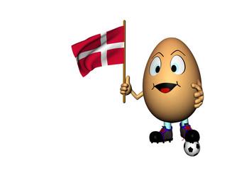 uovo e bandiera