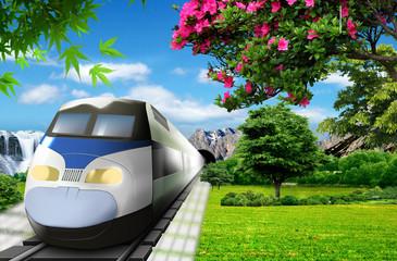 The super-fast train of the future