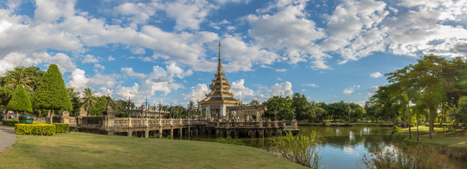 Nonthaburi, Thailand - August 18, 2015: The Park Autthayan-chalerm-karnchanapisek at Nonthaburi, Thailand