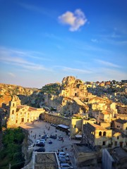 citta' di Matera in Basilicata