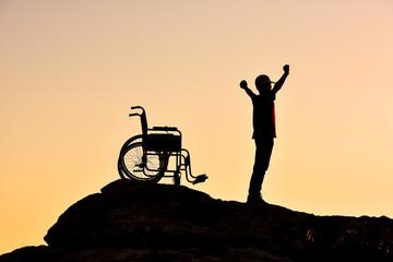 engelli için sıradışı yaşam öyküsü