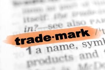 Trademark - orange Markierung