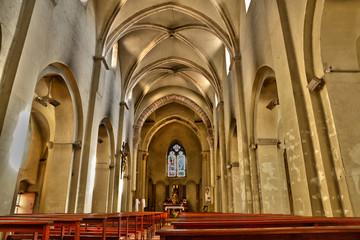 France, the Sainte Madeleine church of  Tournus in Saone et Loi