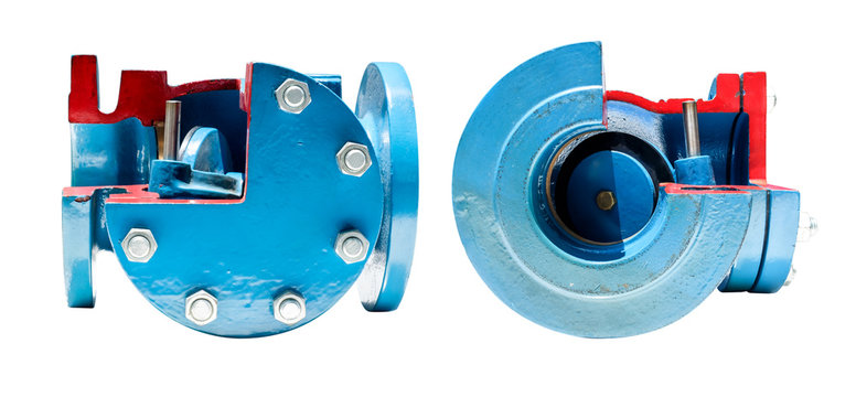 mechanic and part of check valve for waterworks