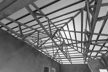 Steel Roof Black and White-12
