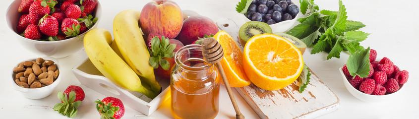 Wall Mural - Fresh fruits