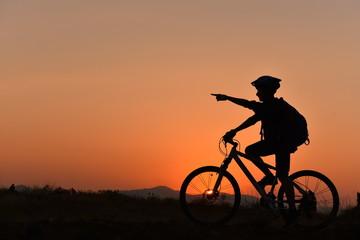 bisiklet ile rota keşifleri