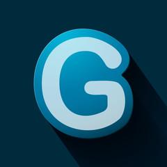 Volume icons alphabet: G
