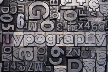 Bleisatz Buchstaben