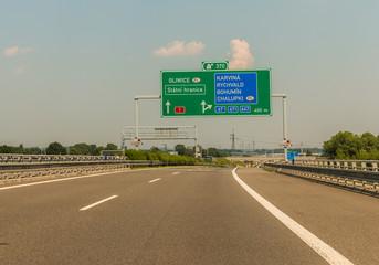 Autobahn Tschechien