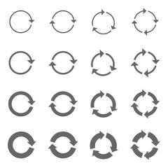 Rotation Arrows Set