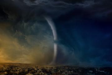 Huge tornado