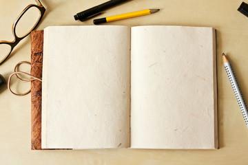 Sketchbook note pad