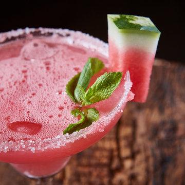 Watermelon frozen cocktail