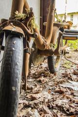 rostiges fahrrad