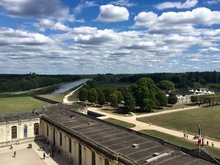 Il parco del castello di Chambord - Loira, Francia