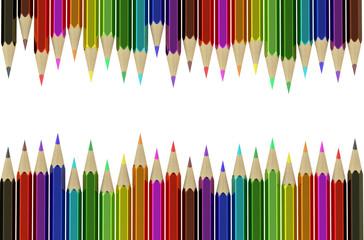 Multicolored pencils