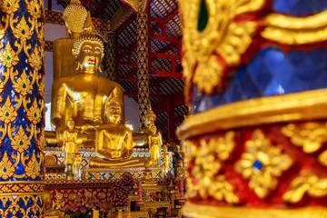 buddha statue in wat suan dok