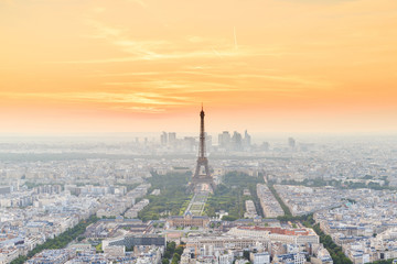 The Eiffel tower is the most visited monument