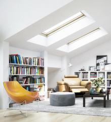 Dachgeschoss-Ausbau (Fokus)