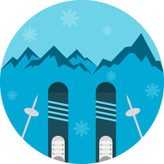 Art Flat skiing